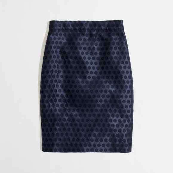 J. Crew Factory Dresses & Skirts - J. Crew Factory Polka Dot Pencil Skirt Size 0